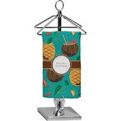 Coconut Drinks Finger Tip Towel - Full Print (Personalized)