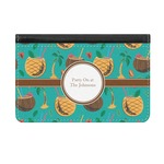Coconut Drinks Genuine Leather ID & Card Wallet - Slim Style (Personalized)