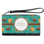 Coconut Drinks Genuine Leather Smartphone Wrist Wallet (Personalized)