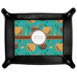 Coconut Drinks Genuine Leather Valet Tray (Personalized)