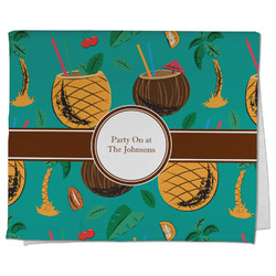 Coconut Drinks Kitchen Towel - Full Print (Personalized)