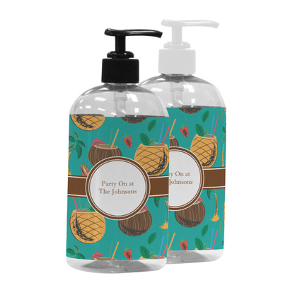 Coconut Drinks Plastic Soap / Lotion Dispenser (Personalized)