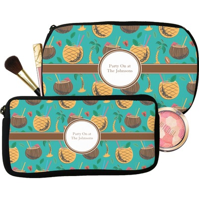 Coconut Drinks Makeup / Cosmetic Bag (Personalized)