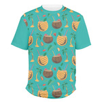 Coconut Drinks Men's Crew T-Shirt (Personalized)