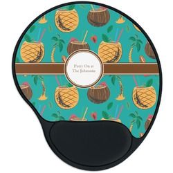Coconut Drinks Mouse Pad with Wrist Support