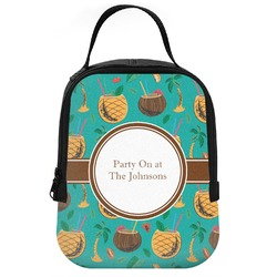 Coconut Drinks Neoprene Lunch Tote (Personalized)