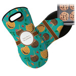 Coconut Drinks Neoprene Oven Mitt (Personalized)