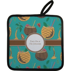 Coconut Drinks Pot Holder (Personalized)