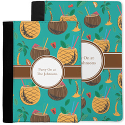 Coconut Drinks Notebook Padfolio w/ Name or Text