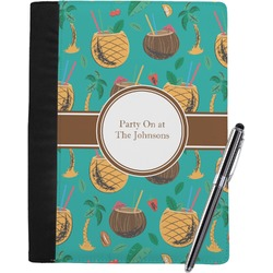 Coconut Drinks Notebook Padfolio (Personalized)
