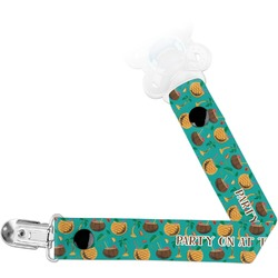 Coconut Drinks Pacifier Clips (Personalized)