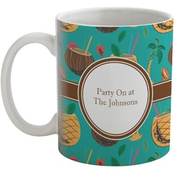 Coconut Drinks Coffee Mug (Personalized)