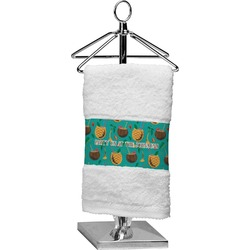 Coconut Drinks Cotton Finger Tip Towel (Personalized)