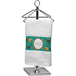 Coconut Drinks Finger Tip Towel (Personalized)