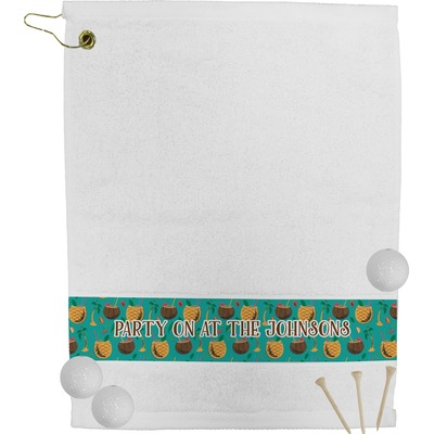 Coconut Drinks Golf Bag Towel (Personalized)