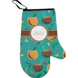 Coconut Drinks Right Oven Mitt (Personalized)
