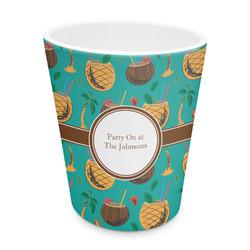 Coconut Drinks Plastic Tumbler 6oz (Personalized)