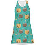 Coconut Drinks Racerback Dress (Personalized)