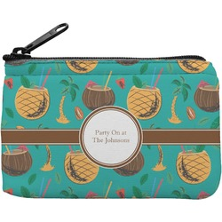 Coconut Drinks Rectangular Coin Purse (Personalized)
