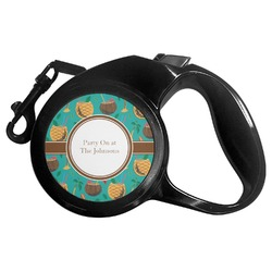 Coconut Drinks Retractable Dog Leash (Personalized)