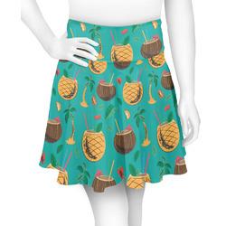 Coconut Drinks Skater Skirt (Personalized)