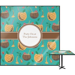 Coconut Drinks Square Table Top (Personalized)