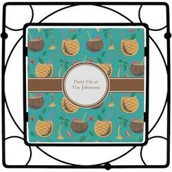 Coconut Drinks Trivet (Personalized)
