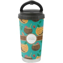 Coconut Drinks Stainless Steel Coffee Tumbler (Personalized)