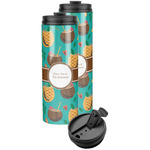 Coconut Drinks Stainless Steel Skinny Tumbler (Personalized)