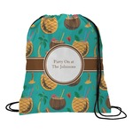 Coconut Drinks Drawstring Backpack (Personalized)