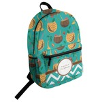Coconut Drinks Student Backpack (Personalized)