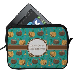 Coconut Drinks Tablet Case / Sleeve (Personalized)