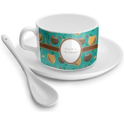 Coconut Drinks Tea Cups (Personalized)