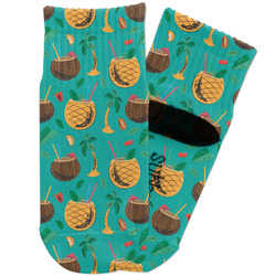 Coconut Drinks Toddler Ankle Socks (Personalized)