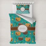 Coconut Drinks Toddler Bedding w/ Name or Text
