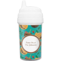 Coconut Drinks Sippy Cup (Personalized)