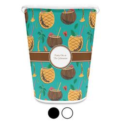 Coconut Drinks Waste Basket (Personalized)