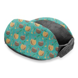 Coconut Drinks Travel Neck Pillow (Personalized)