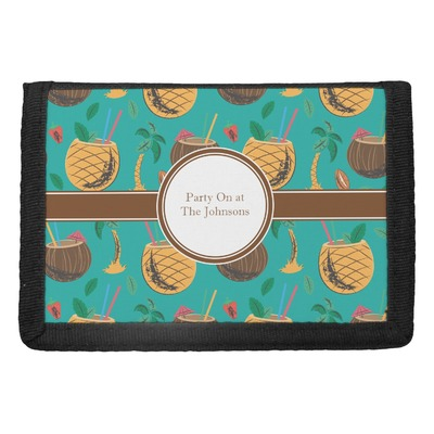 Coconut Drinks Trifold Wallet (Personalized)