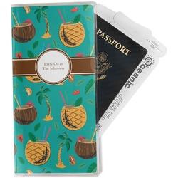 Coconut Drinks Travel Document Holder