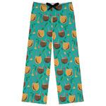 Coconut Drinks Womens Pajama Pants (Personalized)