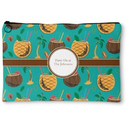 Coconut Drinks Zipper Pouch (Personalized)