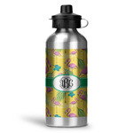 Pink Flamingo Water Bottle - Aluminum - 20 oz (Personalized)