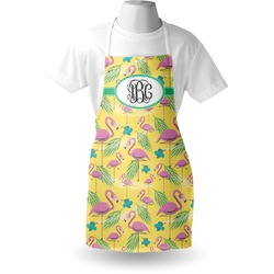 Pink Flamingo Apron (Personalized)