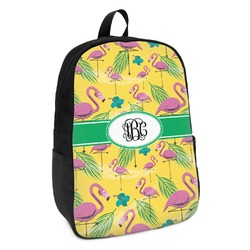 Pink Flamingo Kids Backpack (Personalized)