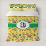 Pink Flamingo Duvet Covers (Personalized)