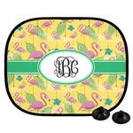 Pink Flamingo Car Side Window Sun Shade (Personalized)