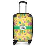 Pink Flamingo Suitcase (Personalized)