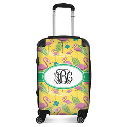 Pink Flamingo Suitcase (Personalized)
