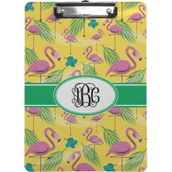 Pink Flamingo Clipboard (Personalized)